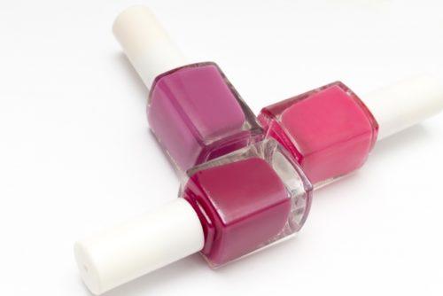 Image of pink nail polish