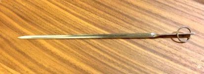 stainless-steel skewer