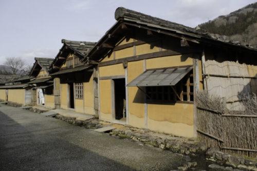 image of Ichijodani castle town