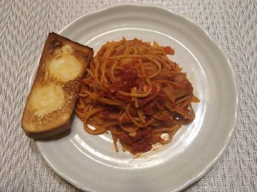 トマトソーススパゲティ8