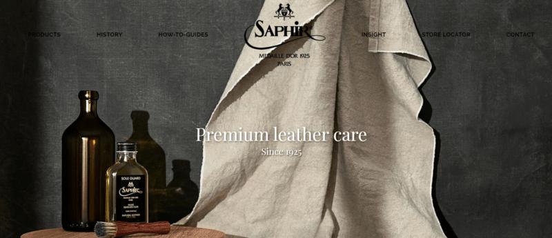 SAPHIR-HP-TOP-PAGEの画像