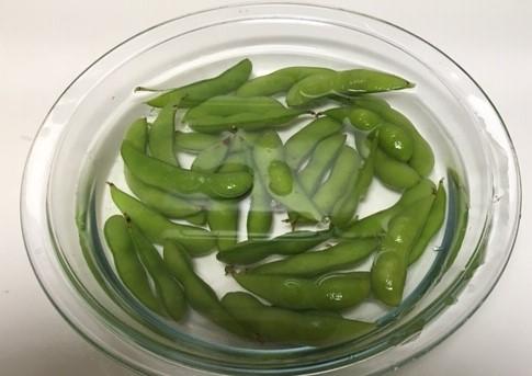 冷凍枝豆解凍