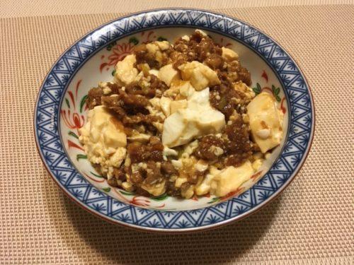 麻婆豆腐食卓