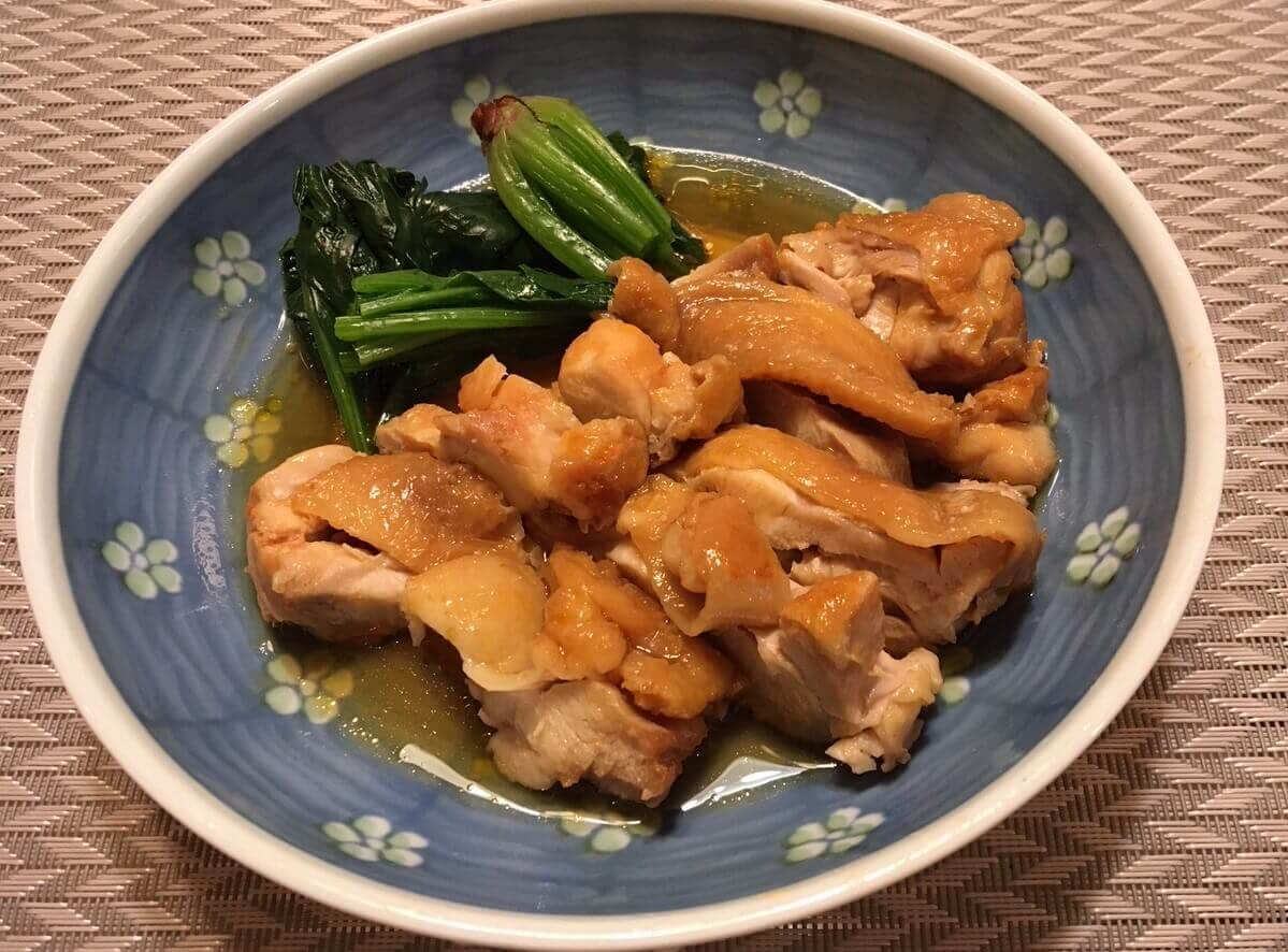 鶏のふっくらツヤ煮アイキャッチ