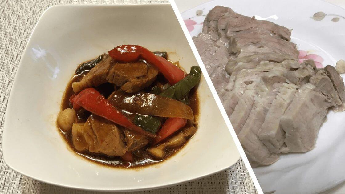 ゆで豚中華風みそ炒め煮アイキャッチ