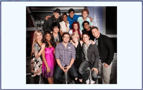 アメリカンアイドルシーズン8 top10の写真