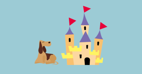 castle-and-dog image