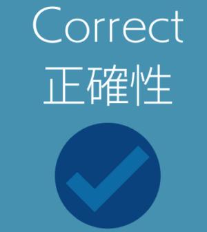 テクニカルライティング3C-Correctを示す画像