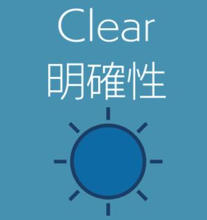 テクニカルライティング3C-Clearを示す画像