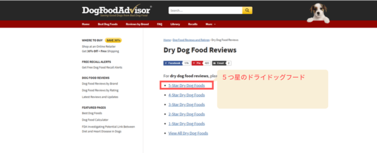 DogFoodAdvisor-review-by-stars_5-stars image