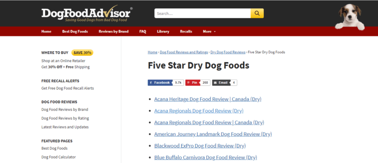DogFoodAdvisor-review-by-stars_5-stars-examples image