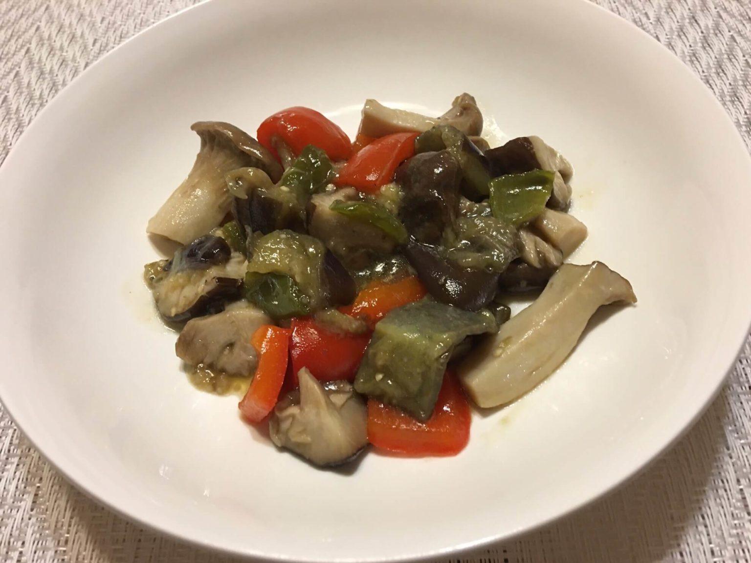 勝間流たっぷり野菜の蒸し煮アイキャッチ