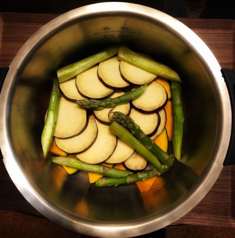 蒸し野菜K