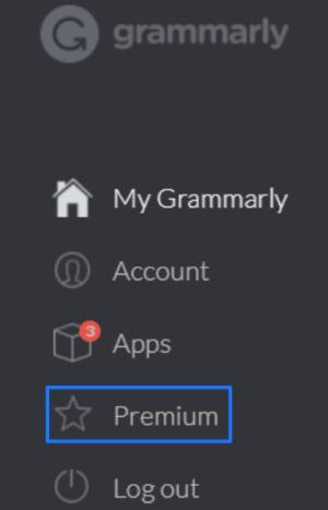 Grammarly Premiumのアイコン