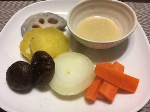 バーニャカウダと野菜