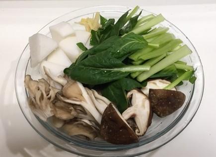 春雨スープの野菜