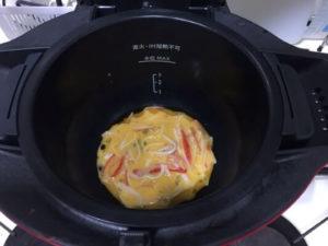 天津丼たまご調理前