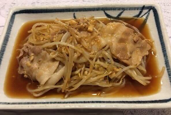 豚バラもやし炒め食卓2