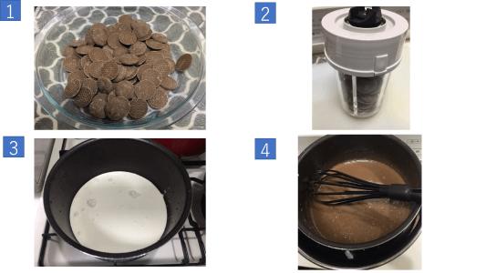 チョコレートケーキ写真4