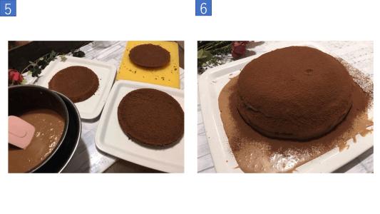 チョコレートケーキ写真5
