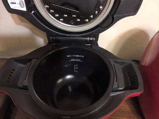 内鍋フッ素加工ホットクック本体セット