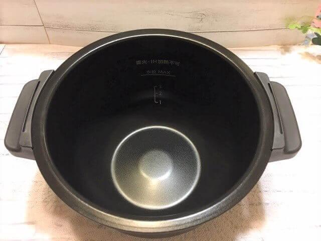 内鍋フッ素加工外観