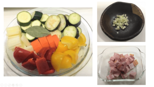 Image: Ratatouille modified ingredients