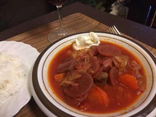 Borscht Dinner Table
