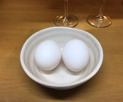 Image Letting the eggs come to room temperature