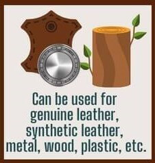 Major points and effects of Renapur_Can be used for genuine leather, synthetic leather, metal, wood, plastic