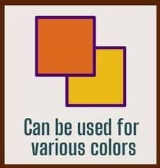 Major points and effects of Renapur_Can be used for various colors