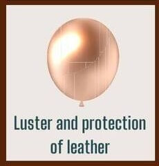 Major points and effects of Renapur_Luster and protection of leather