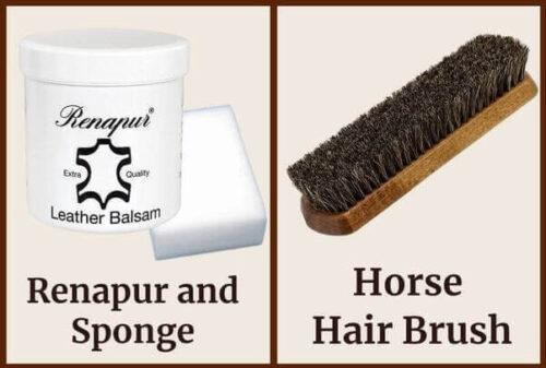 Renapur and Sponge_Horsehair brush