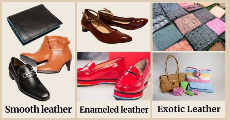 Types of leather where Renapur can be used